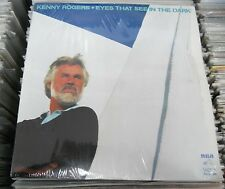 KENNY ROGERS -EYES THAT SEE IN THE DARK- WHITE LABEL PROMO MEXICAN LP