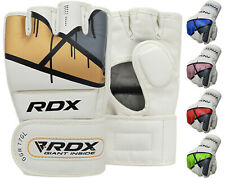 RDX  Grappling MMA Boxing Gloves Training Punching Sparring Fighting Wraps AU
