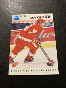 2001-02 Pacific Adrenaline Pavel Datsyuk Blue SP RC /62 🔥🔥🔥