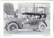 """*Idaho Postcard-""""Early Automobile""""-Parked Front of Library-*Idaho Falls (2-ID)"""
