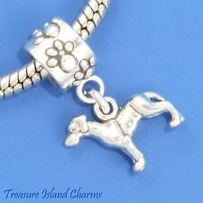 Great Dane Dog Breed 925 Sterling Silver European Euro Dangle Bead Charm