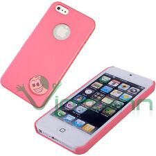 Pellicola+Custodia cover MOSHI ROSA per iPhone SE 5 5S case sottile rigida nuova