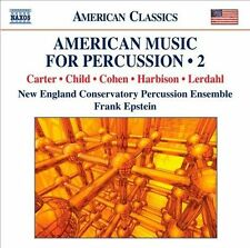 American Music for Percussion Vol 2, New Music
