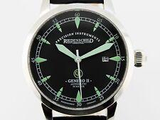 Riedenschild reloj Germany genero II automático en acero inoxidable,! nuevo!