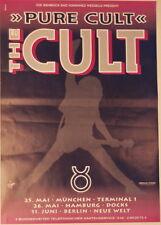 The Cult Concert Tour Poster 1996