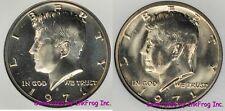 1971 P & D Kennedy Half Dollar pair Choice/Gem Bu No Reserve