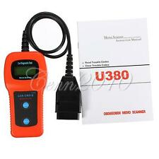 U380 OBD2 Diagnostic Tool Scanner Accurate Code Reader For Toyota Honda Nissan