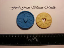 Full Size Jammy Dodger Biscuit Food Grade Silicone Mould