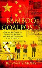 New, Bamboo Goalposts, Simons, Rowan, Book