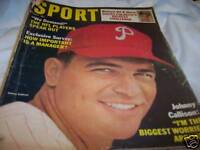 Sport Magazine 7/1965 Johnny Callison Phillies
