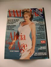 Vanity Fair Magazine -Lot of 11 (1995-99) Jerry Seinfeld, Charlize Theron, more