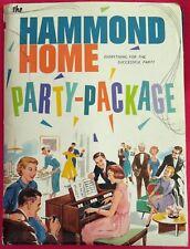1950s Hammond Organ Home Party Pack Songs Dance Instructions Invitations Bingo