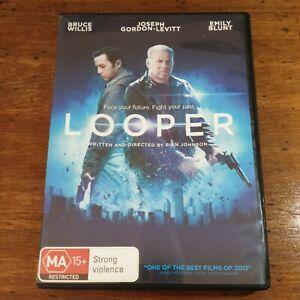 Looper DVD R4 LIKE NEW FREE POST