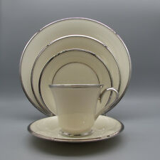 "Lenox China Solitaire Service for Four - 20pc Set ""Dimension"""