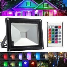 20w Outdoor LED Flood Light Floodlight RGB Garden Yard Lamp Waterproof Ip65 AU