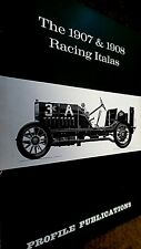 PROFILE PUBLICATIONS CAR #61: THE 1907 & 1908 RACING ITALAS (1967)