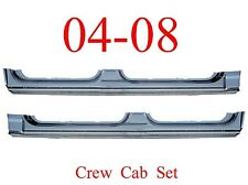 04 08 Crew Cab Extended Rocker Panel Set, Ford Truck, F150 Super Crew Both Sides