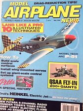 Model Airplane News Magazine ARC P51 Model Tech Ziroli MAy 1996 081917nonrh