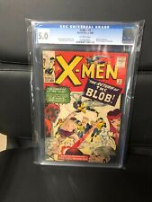 X MEN #7 CGC 5 OW PAGES