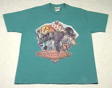 New listing Vintage Walt Disney World Animal Kingdom T-Shirt (90s) Textured Graphic! L