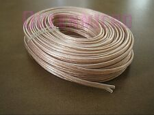 50Ft 16 AWG Gauge Wire 2 Conductor Polarized Home Car Speaker Audio Cable 50'