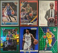 Lot of (6) Jeremy Lamb, Including Optic red /85, Prizm/Mosaic parallels & RCs