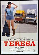 Manifesto Teresa Serena Grandi Baba, Truck Truckload Scania Fiat M247