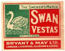 Swan Collectable Matchboxes/Matchbooks