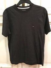 Tommy Hilfiger Vintage Rundhals Basic T-Shirt T Shirt Grau Gr. S 100% Baumwolle
