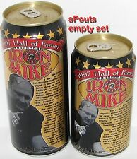IRON MIKE WEBSTER 1997HALL FAME PITTSBURGH STEELERS NFL FOOTBALL SPORT BEER CANS