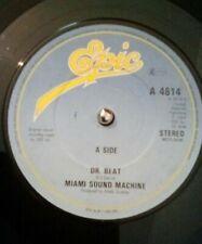 "Miami Sound Machine – Dr. Beat Vinyl 7"" Single UK EPIC A 4614 1984"