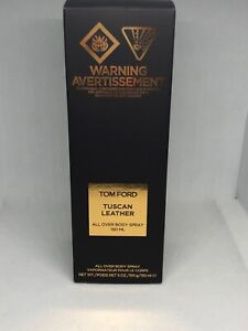 TOM FORD  Tuscan Leather ALL OVER Body Spray 5oz / 150ml New In Box
