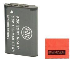 BM NP-BX1 Battery for Sony CyberShot DSC-HDR-AS10,AS15,AS30V,AS100V,AS100VR,