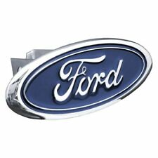 "Ford Chrome Stainless Steel 1.25"" Trailer Tow Hitch Cover"