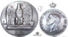 Vittorio Emanuele III (da LIRE 5) 1928**-Due Rosette