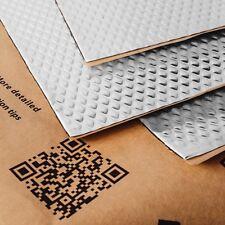 Noico 2 mm 0.95 qm Selbstklebende Alubutyl Anti Dröhn Dämmmatte, Auto Dämmung