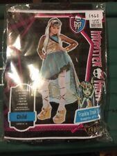 New Halloween Costume Frankie Stein Supreme Child Monster High Girl Large 12-14