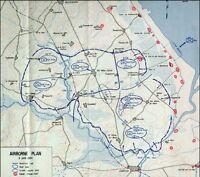 6x4 Gloss Photo wwA6C Normandy Map D-Day Utah Oap