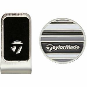 Taylormade Japan Golf TM Cap Clip Ball Marker KY352 Black