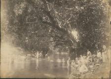 Nouvelle Calédonie, La Brousse (Grande Terre). Militaires Français  Vintage albu