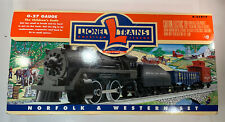 Lionel Trains NORFOLK AND WESTERN Train Set 0-027 GAUGE 6-21917 Complete In Box
