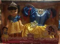 Disney My First Princess Snow White Doll &Toddler Dress Gift Set & Dress Costume
