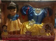 Disney My First Princess Snow White Doll &Toddler Dress Gift Set & Dress Costume