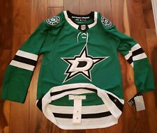 Nhl Dallas Stars Adidas Hockey Jersey Authentic Nwt Size 50 Blank North Texas