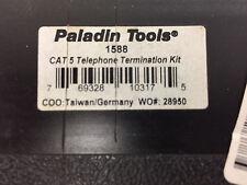 PALADIN TOOLS 1588 UPC 769328103175 CAT 5 TELEPHONE TERMINATION KIT