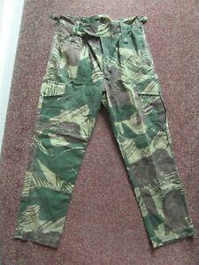 Rhodesian Army Bush War Brushstroke Camouflage Trousers 32 waist