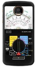 Analog Multimeter Phone Case for Moto Z3 Z2 Z Force Play Plus G7 G6 G5 G4 E5 E4