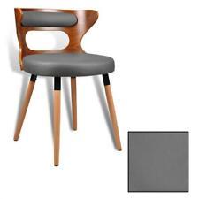 Esszimmerstuhl Küchenstuhl Stuhl Essstuhl Holz Walnuß Kunstleder Design Stühle