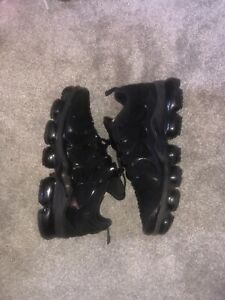 NIKE AIR MAX VAPORMAX PLUS TRIPLE BLACK | UK9 - TN 90 95 97 270 REACT