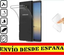 Funda Gel Tpu posterior para Samsung Galaxy NOTE 8 Carcasa Transparente